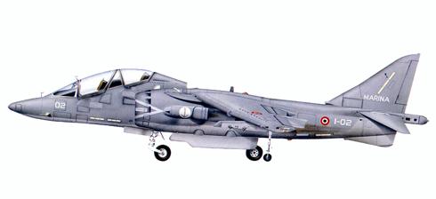 McDonnell Douglas AV-8B Harrier II, Marina Militare Italiana, 2011.