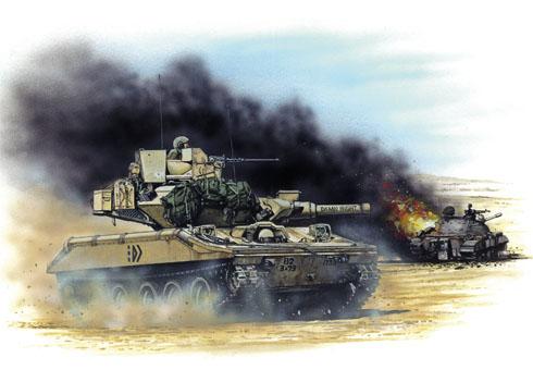 M551 A1TTS, Compañía D, 82ª División Aerotransportada, Irak, Operación Desert Storm, 1991.