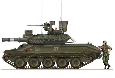 M551 Sheridan, 25ª División de Infantería, Vietnam, 1969.