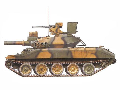 M551 Sheridan, 2º de Caballería, 7º Ejército, Alemanía, 1970.