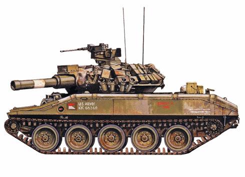 M551 Sheridan, 4º de Caballería, 25ª División, Cu Chi, Vietnam, 1969