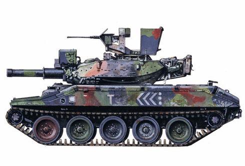 M551 Sheridan, Co. C, 3-73º de Blindados, Operación 'Just Cause', Panamá, 1989.