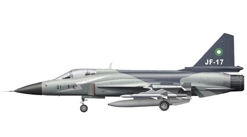 PAC JF-17 Thunder, Fuerza Aérea de Pakistán,  Islamabad, Pakistán.