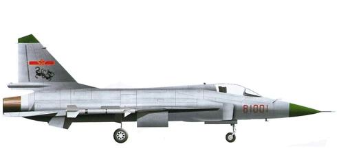 Chengdu FC-1 Xiaolong, Fuerza Aérea de la República Popular China, 2007.