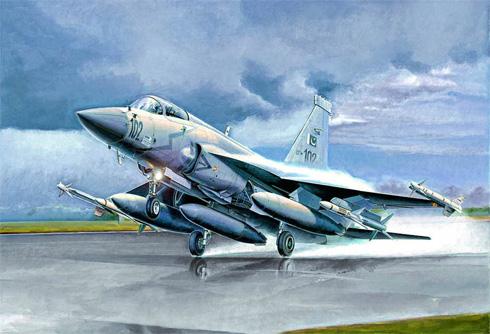 Despegue de un PAC JF-17 Thunder, Fuerza Aérea de Pakistán, Pakistán.