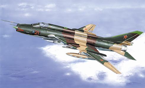 Su-17 M3 Fitter H, Fuerza Aérea de la URSS, 1983.