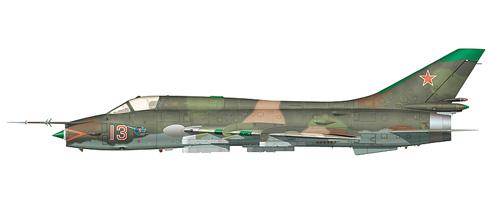 Sukhoi S-17 M3 Fitter, Fuerza Aérea de la URSS. 1982.