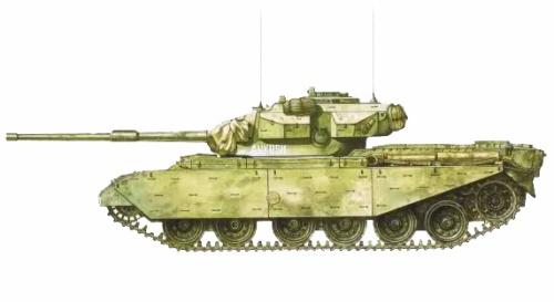 Centurión Mk.7, 1ª División Acorazada India, North Punjab, guerra indo-pakistaní, 1965.