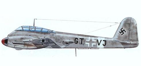 Messerschmitt Me-210A-1, Frente del Este,  primavera de 1944.