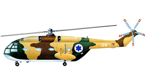 Aérospatiale SA-321K Super Frelon, Fuerzas Aéreas Israelíes.