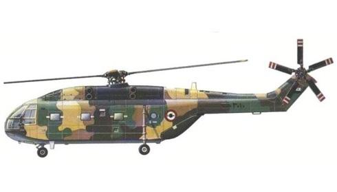 Aerospatiale SA-321 Super Frelon, Fuerza Aérea Siria.