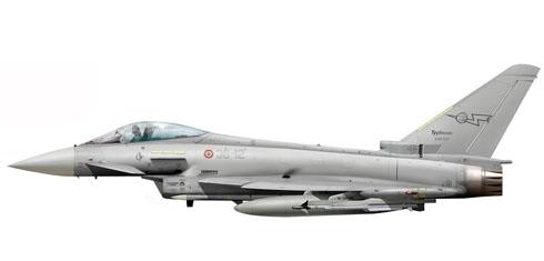 Eurofighter Typhoon del 12° Gruppo, 36° Stormo, Fuerza Aérea Italiana, 2009.