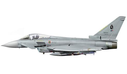 Eurofighter Typhoon del 9º Gruppo, Aeronautica Militare Italiana, 2006.