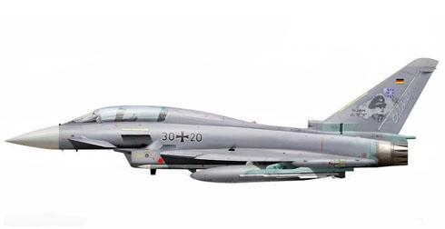 Eurofighter Typhoon, Jagdgeschwader 73 Steinhoff, Luftwaffe, 2009.