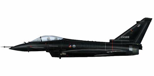 Eurofighter Typhoon, Royal Air Force.