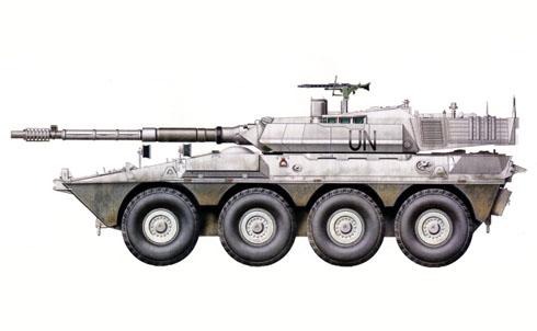 Vehículo blindado B1 Centauro, Ejército Italiano, Líbano, 2006.