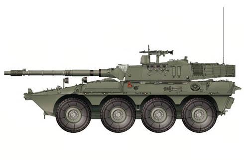 Vehículo blindado B1 Centauro, Reg. Savoia Cavalleria, Ejército Italiano, 2005.