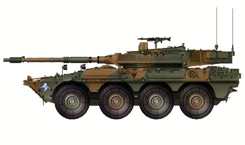 Vehículo blindado B41 Centauro, Ejército Italiano, 2006.