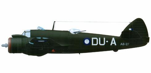 Bristol Beaufighter del 22º Escuadrón de la RAAF, Base de Moratai, 1944.