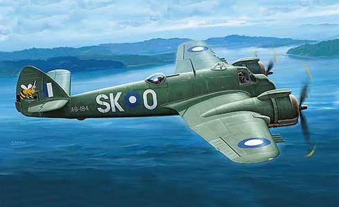 Bristol Beaufighter Mk.XXI, RAAF, Océano Pacífico, 1944.
