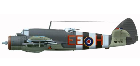 Bristol Beaufighter perteneciente al 404º Escuadrón de la RCAF, Junio de 1944.