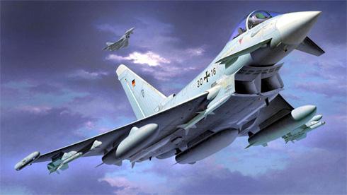 Eurofighter Typhoon, Luftwaffengeschwader 73 ''Steinhoff'', Base de Laage, Luftwaffe.