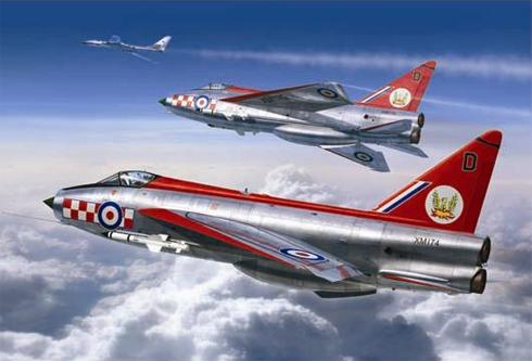 English Electric - BAC Lightning F.1A del 56º Escuadrón, Royal Air Force, Wattisham, 1964.