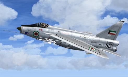 English Electric - BAC Lightning F Mk 53 'Paris Air Show 1969', Kuwait Air Force.
