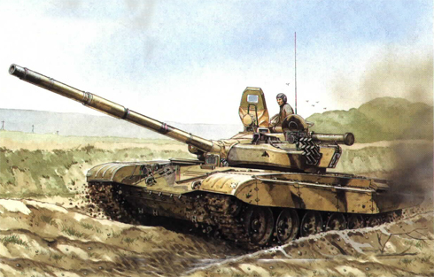 Tanque T-72 B, 2ª División Acorazada de Guardias Tamanskaya, Moscú, Rusia, 1991.
