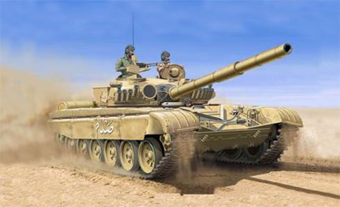 Tanque T-72 M1 del Ejército Regular Iraqí.