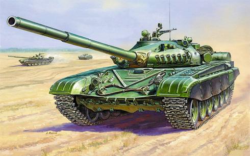 Tanque T-72 Ural, 1990.