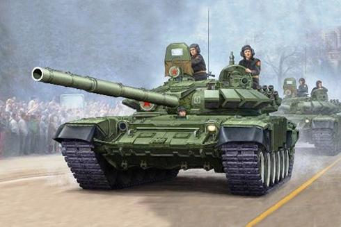 Tanque T-72 B, 2ª División Acorazada, Moscú, Rusia, 1990.