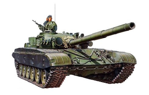 Tanque T-72 B del Ejército Ruso, 1991.