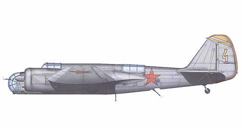 Túpolev SB-2M, 7º SAD, Distrito militar del Báltico, destruyendo el avance alemán durante la Operación Barbarroja, alrededores de Riga, 1941.