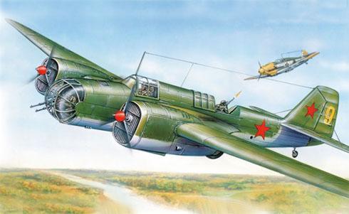 Túpolev SB-2M Katyuska, Fuerza Aérea Rusa, 1940