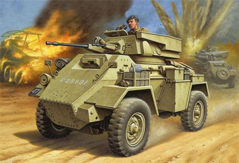 Vehiculo Blindado Humber Mk.II, Norte de África, 1943.