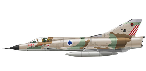Dassault Mirage III CJ, 101º Escuadrón, Fuerzas de Defensa de Israel, 1970