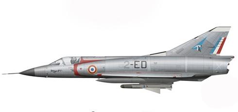 Mirage III C, 91º Escuadrón de Caza, Base aérea de Dijon, 1967.
