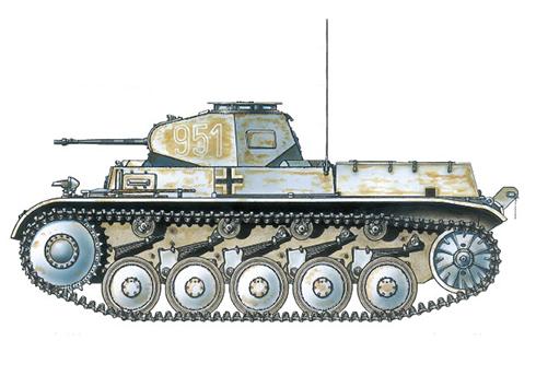 PzKpfw II Sd.Kfz.121 Modelo C, 201º Regimiento Panzer, 23ª División Panzer, Frente del Este, invierno de 1943.