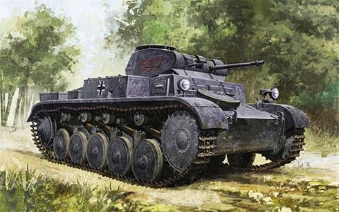 PzKpfw II Sd.Kfz.121 Modelo F, Frente del Este, verano de 1942.