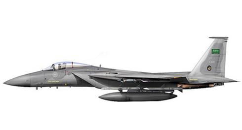 McDonnell Douglas F-15 C Eagle, 13º Escuadrón, Real Fuerza Aérea de Arabia Saudí, Base aérea King Abdul Aziz.