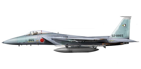McDonnell Douglas F-15 J Eagle, 204º Escuadrón, JASDF, Okinawa, 2012.