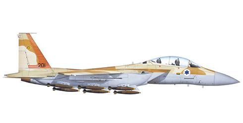McDonnell Douglas F-15 I Ra'am, Fuerzas de Defensa de Israel, Tel Nof, 1999.