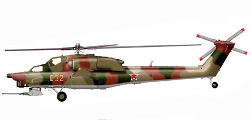 Mil Mi-28 A Havoc,118º Regimento de Helicópteros, Fuerza Aérea Rusa, Oblast de Dmitriyevka.