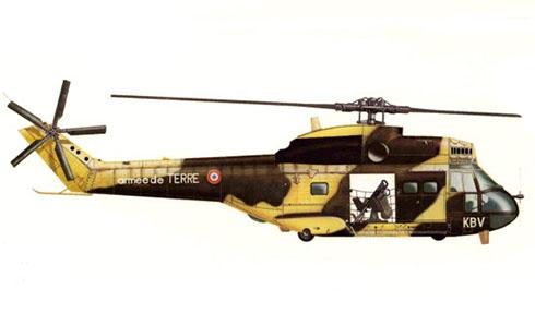 Aérospatiale SA-330 B Puma, Armée de Terre, Djibouti.
