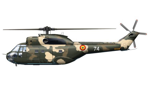 IAR 330 Puma, Fuerza Aérea de Rumanía.