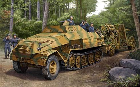 Sonderkraftfahrzeug 251-10 Ausf. C, Bélgica, 1944.