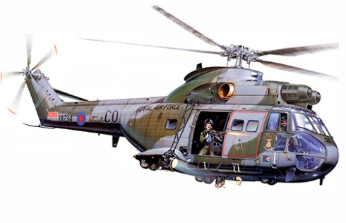 Westland HC Mk.1 Puma, Royal Air Force.