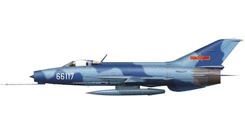 Chengdu J-7I, Académia de vuelo, Fuerza Aérea del Ejército Popular de Liberación, base Aérea deHarbim-Lalim.
