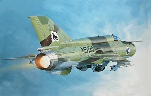 Mikoyán-Gurévich MiG-21 Bis Fishbed, Fuerza Aérea de Finlandia.